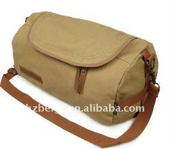 Large capacity canvas travel duffel bag