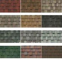 HONGCHENG famous brand Laminated Fiberglass Colored Asphalt Roofing Shingles