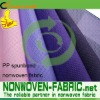 Nonwoven spunbonded 100%polypropylene fabric for bag