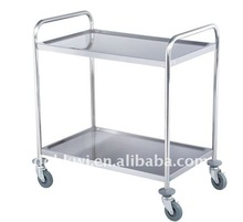 Stainless Steel hotel service trolley
