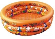 3 layers cartoon Inflatable pool