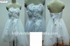 2012 Noble Sex Off-Shoulder Short Wedding Dres