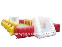 2012 inflatable soap football ground