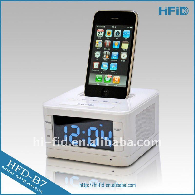 alarm clock dock. Black Bedroom Furniture Sets. Home Design Ideas