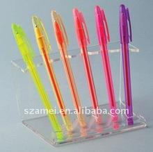 acrylic desk pen holder