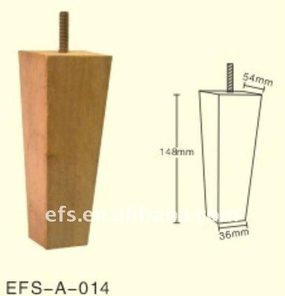 Supply Modern Cheap Furniture Legs Furniture Screw Leg Tapered Wood Furniture Leg View Cheap