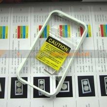 Deff Cleave White Ceramic bumper aluminum case for iPhone 4