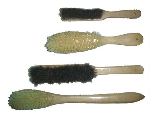 Four pcs clothes horse hair brush