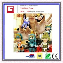 China Characters of Three Kingdoms usb flash for Promotion gift