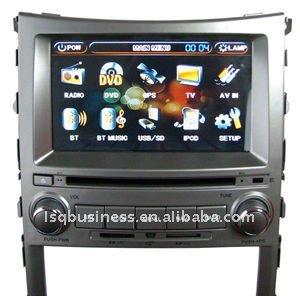 Hyundaii x55รถเครื่องเล่นดีวีดีที่มีบลูทูธ, built-i ngps, การควบคุมพวงมาลัย, ทีวี, วิทยุ, v- cdc,i pod