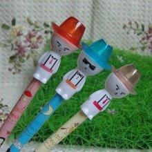 fashion cute cartoon character erasable ball point pen small ballpoint pen promotional gift