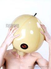 Fetish Inflatable Latex Masks
