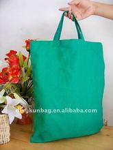 2011 new foldable Cotton/canvas bag,fashion handle bag