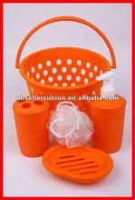 6PCS Small Basket Bathing Set