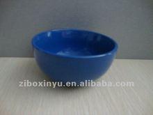Royal Blue color Ceramic bowl for promotion