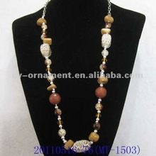 fashion jewelry beads string necklace