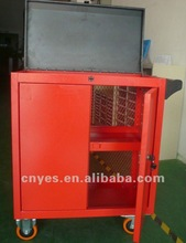 Roller METAL Cabinet Tool Chest Combo w / 6 Ball Bearing Drawer Design