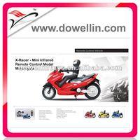 Hot Sales Mini IR rc model motorcycle toy
