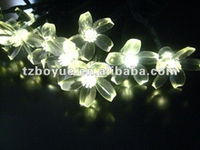 20 LED Solar Fairy String Light with Flowers