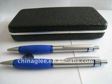 metal pen set ballpoint pen with pencil set