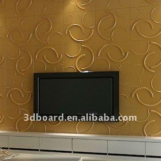 Besta 3d l gante panneaux muraux d coratifs tuiles de plafond id du produit - Panneaux muraux decoratifs 3d ...