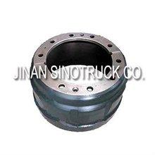 sinotruk howo spare parts: brake drum AZ9112340006