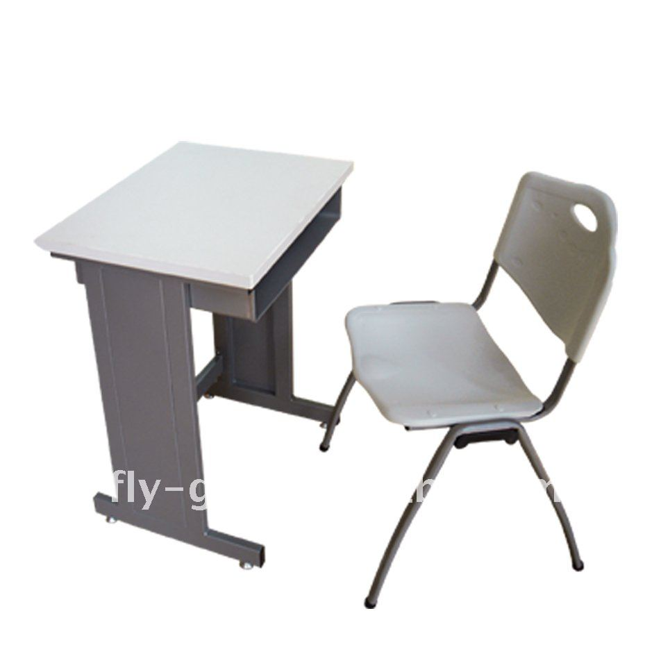 Steel table chairs design study table and chair junior for Table and chairs
