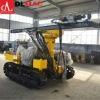 Hydraulic crawler mounted quarry mine borehole drilling equipment
