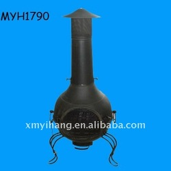 2012 new hot sale terracotta outdoor chiminea