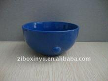 Blue color Ceramic bowl for 3D printing
