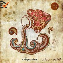 Aquarius wall art painting