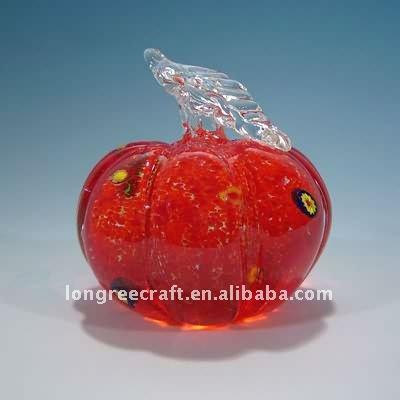 Red Apple Fusing Art Glass Christmas Gift-LRT320