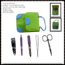 Green Pouch!New Design Utility&Fashion Mini Manicure Set