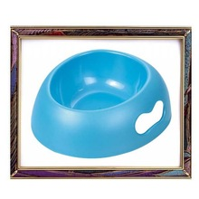 2012 hot selling love heart shape handle plastic pet bowl for dogs and cat,dow bowl,cat bowl