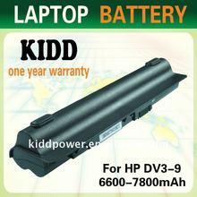 10.8v laptop battery for HP Pavilion DV3-2000/CQ35S/CQ35-222TX series