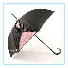 straight double layer women umbrella /
