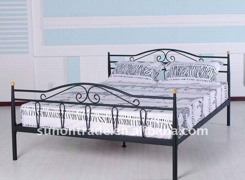 Promotional Metal Double Bed Designs Buy Metal Double Bed