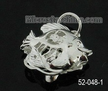 Copper alloy fish pendant charm new pattern in 2012