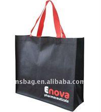 2012 new design black 90gsm non woven bag