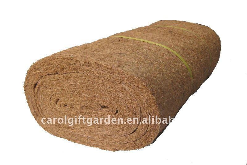 rouleau de fibre de coco pour le jardinage. Black Bedroom Furniture Sets. Home Design Ideas