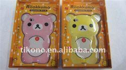 fashion TPU rilakkuma mobile phone case for iphone 4 4s