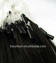 Top selling micro links indian noble hair