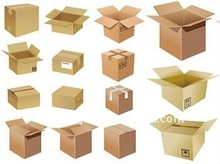 Kraft Paper Packaging Box For 2012