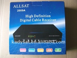 Allsat 2009A DVB-C High definition digital for support Thai language