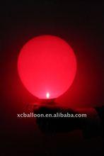 2012 hot selling 100% natural latex Led light balloon
