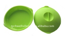 fashion and eco-friendly silicone food steamer with cover