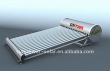non-pressurized solar water heater olar keymark CCC CE ISO9001 EN12975 2012 POPULAR PRODUCT hot products