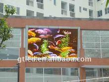 P10 outdoor RGB led advertising billboard screen