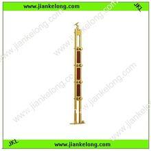 2012 hot selling .popular golden stainless steel balustrade