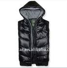 100% nylon mens down vest for HA031